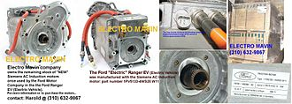 Ford Ranger EV - Siemens AC induction motor