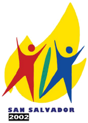 2002 Central American and Caribbean Games - Image: San Salvador 2002logo