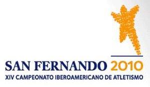 2010 Ibero-American Championships in Athletics - Image: San Fernando 2010