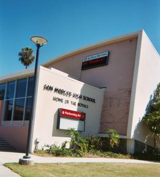 San Marcos High School (Santa Barbara, California) - San Marcos High School, Santa Barbara, CA.