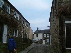 Thornton, West Yorkshire - Image: Sapgate lane
