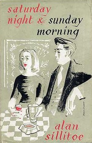 Saturday Night and Sunday Morning - Cover of the first UK edition