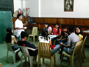 Student Catholic Action - The Standard Orientation Program given at the SCA Office