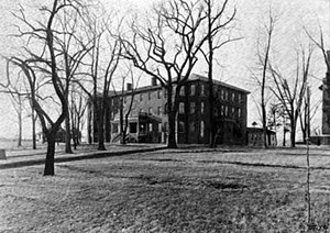 Lindenwood University - Sibley Hall, as it appeared in 1912