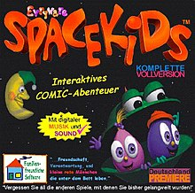 Boxart Of The German Edition Spacekids