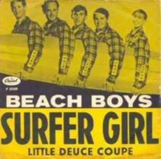 Little Deuce Coupe (song) - Image: Surfer Girl cover