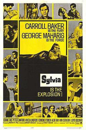 Sylvia (1965 film) - Theatrical release poster