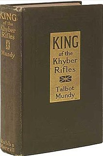 <i>King of the Khyber Rifles</i> book by Talbot Mundy
