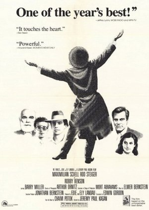 The Chosen (1981 film) - Image: The Chosen 1981CROP
