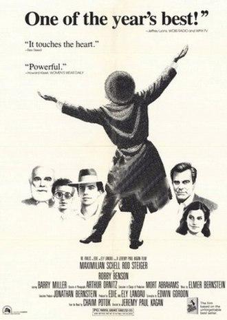 The Chosen (1981 film) - Image: The Chosen 1981CROP