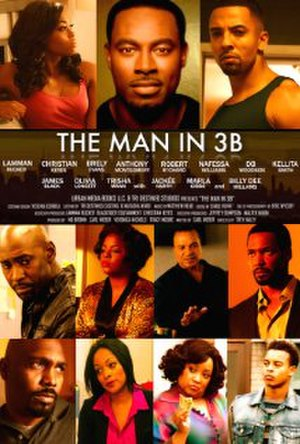 The Man in 3B - Theatrical release poster