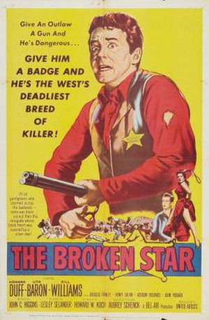 The Broken Star - Theatrical release poster