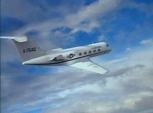 The Disappearance of Flight 412 - The preponderance of stock footage was seen in the early part of the film