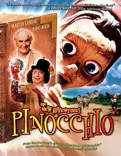 <i>The New Adventures of Pinocchio</i> (film) 1999 film by Michael Anderson