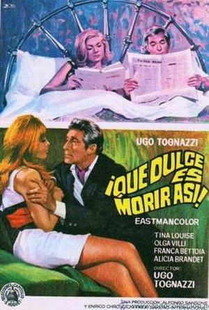 The Seventh Floor (1967 film) - Film poster