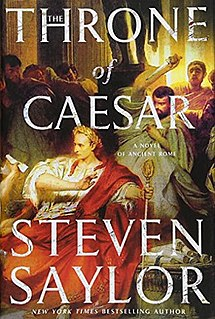 <i>The Throne of Caesar</i> book by Steven Saylor