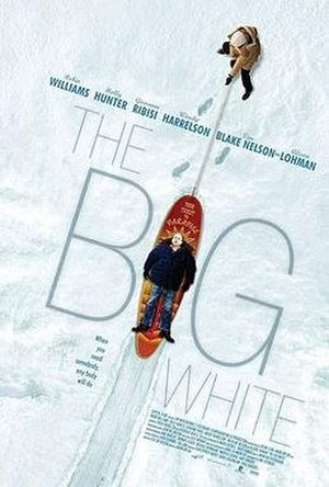 The Big White - Promotional poster for The Big White
