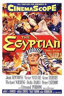 <i>The Egyptian</i> (film) 1954 film by Michael Curtiz