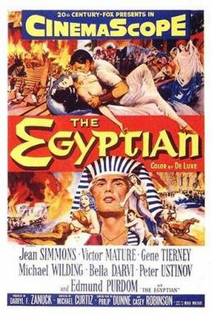 The Egyptian (film) - Theatrical release poster