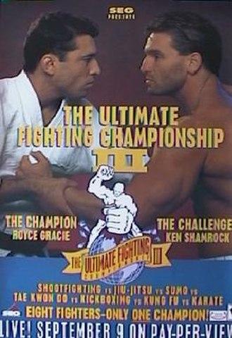 UFC 3 - Image: UFC 3 promotional poster
