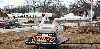 Riverside, Iowa - The USS Riverside