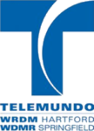 WRDM-CD - Previous logo; used until nationwide Telemundo rebrand on December 8, 2012.