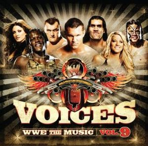 Voices: WWE The Music, Vol. 9 - Image: WWE Vol 9