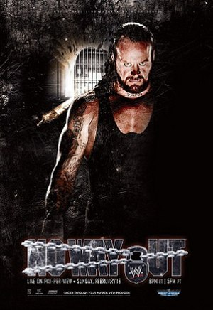 No Way Out (2007) - Promotional poster featuring The Undertaker