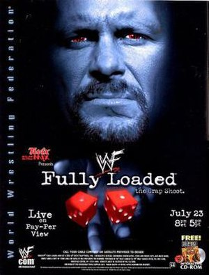 Fully Loaded (2000) - Promotional poster featuring Stone Cold Steve Austin (although he wasn't at the event).