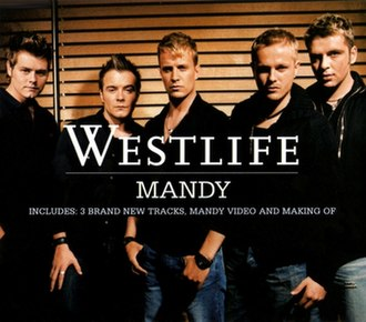 Brandy (Scott English and Richard Kerr song) - Image: Westlife Mandy