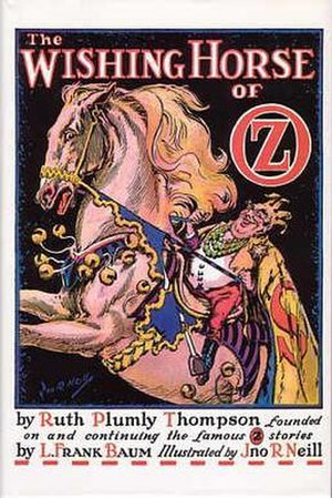 The Wishing Horse of Oz - Cover art