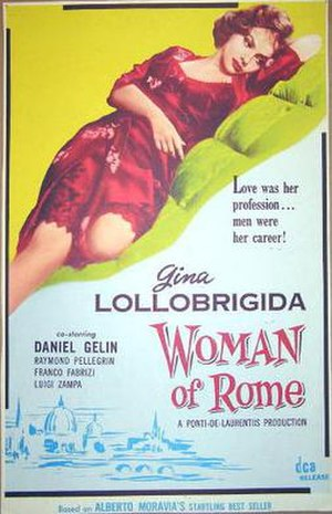 Woman of Rome - Film poster