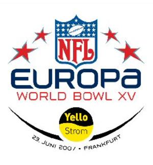World Bowl XV - Image: World Bowl XV Logo