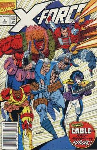 Six Pack (comics) - Image: Xforce 8
