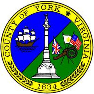 York County, Virginia - Image: York Seal