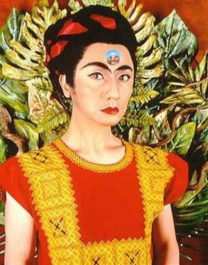 Yasumasa Morimura - 'An Inner Dialogue with Frida Kahlo (Skull Ring)', photograph by Yasumasa Morimura