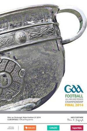 2014 All-Ireland Senior Football Championship Final - Image: 2014 All Ireland Senior Football Championship Final programme