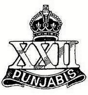 22nd Punjabis - Image: 22 Punjabis