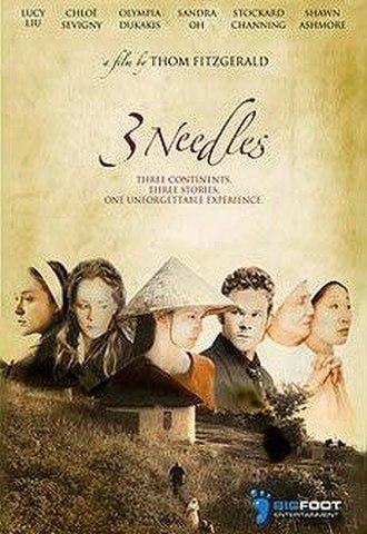 3 Needles - 3 Needles Promotional Movie Poster