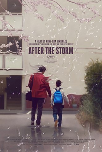 After the Storm (2016 film) - Theatrical release poster