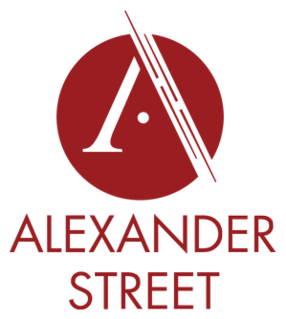 Alexander Street Electronic academic database publisher