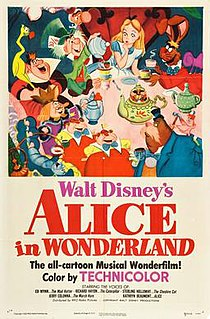 <i>Alice in Wonderland</i> (1951 film) 1951 American animated musical fantasy film produced by Walt Disney Productions