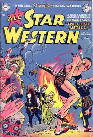All-Star Western - Image: All star west 58