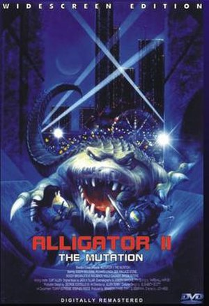 Alligator II: The Mutation - DVD cover