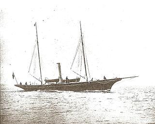 <i>Amazon</i> (yacht) steam yacht built in 1885