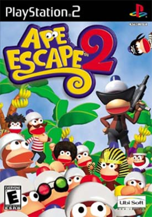 Ape Escape 2 - Image: Ape Escape 2 Coverart