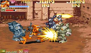 Armored Warriors - Gameplay screenshot (1 player)