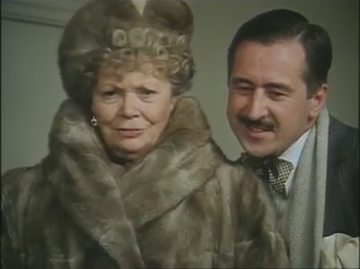 Aunt Agatha - Mary Wimbush as Aunt Agatha in the television series Jeeves and Wooster