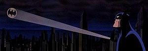 Bat-Signal - The Bat-Signal in the 1993 film Batman: Mask of the Phantasm