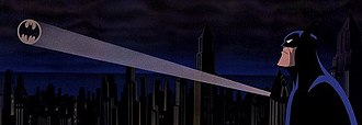 Bat-Signal - The Bat-Signal in the 1993 film Batman: Mask of the Phantasm